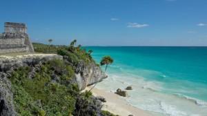 Veduta di una spiaggia di Cuba
